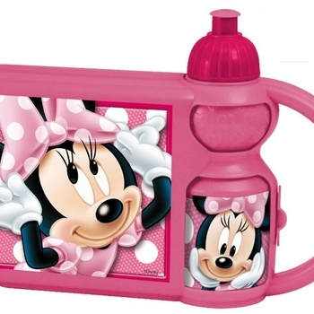 Disney Minnie Mouse broodtrommel met beker.