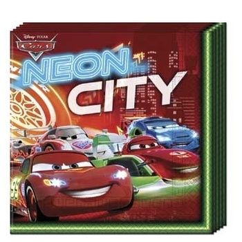 Disney servetten Cars 3