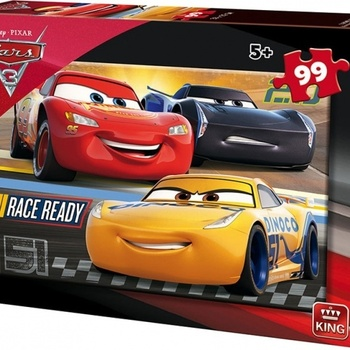 King legpuzzel Disney Cars
