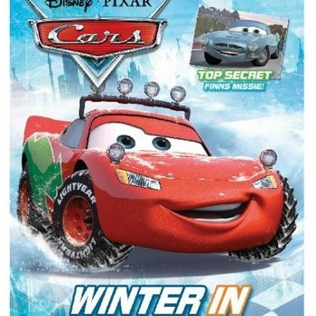 Disney Cars tijdschrift Winter in Radiator Spring