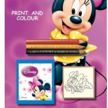 Multiprint kleurset Minnie Mouse
