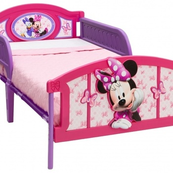 Disney Minnie Mouse Twin Bed.