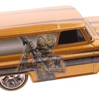 HOT WHEELS Star Wars GMC 64 Panel 8 cm diecast brons