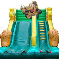 Speeldorp De Jungle - Zwevezele - Monkey Slide